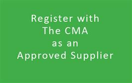 CMA Approved Supplier Membership