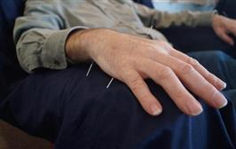 acupuncture significantly more effective in dermatologic conditions
