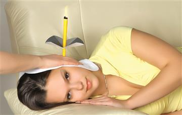Ear Candling - proposed mechanism of action