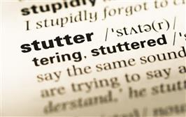 Examining the science of stuttering, from childhood into adulthood
